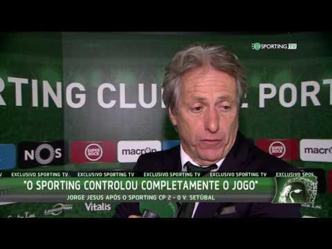 Flash de Leão Bruno César e Jorge Jesus - Sporting CP 2 X 0 Vitória FC
