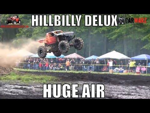 HILLBILLY DELUX Huge AIR At Perkins Spring Mud Bog