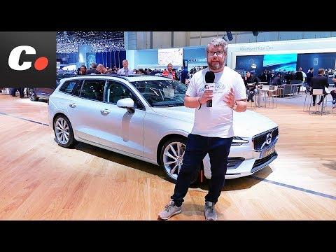 Volvo V60 | Salón de Ginebra 2018 | Geneva Motor Show en español | coches.net