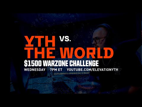$1500 Warzone Tournament: Elevation YTH vs. the World