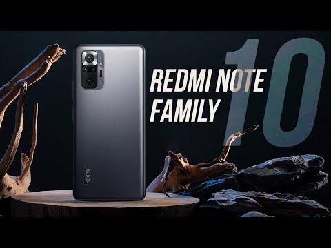 REDMI NOTE 10 FAMILY – Global Laun …