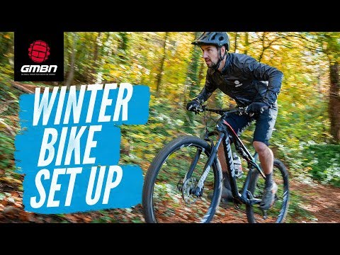 How To Set Up Your Mountain Bike For Winter