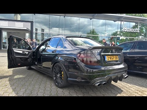 Mercedes-Benz C63 AMG with FULL LOUD iPE Innotech Exhaust!