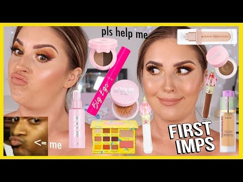 FULL FACE of FIRST IMPRESSIONS ? literally hate almost everything ?