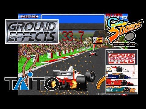 """GROUND EFFECTS (SAN MARINO) - """"CON 5 DUROS"""" Episodio 937 (+Rage Racer / PSX / Episodio 1) (1cc)"""