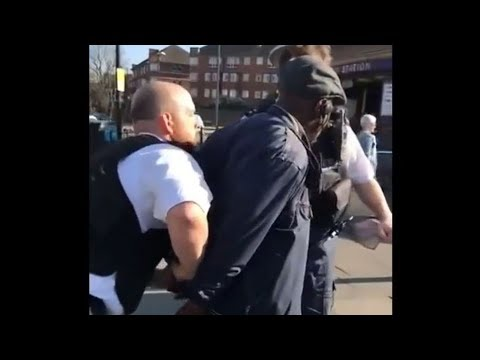 London Street Preacher Forcefully Arrested
