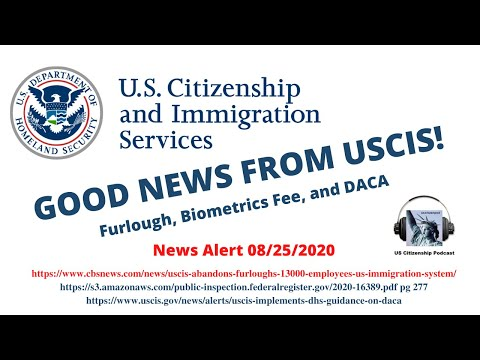 Good News from USCIS!