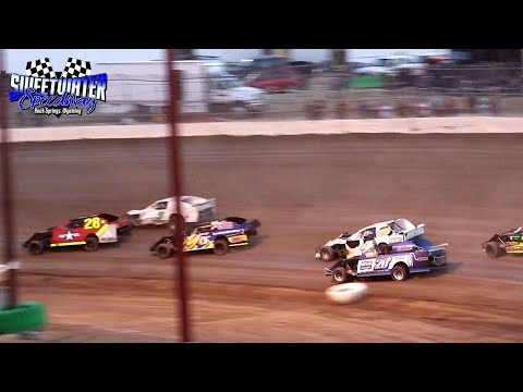 Sweetwater Speedway IMCA Northern SportMod Main Event 7/2/21 - dirt track racing video image