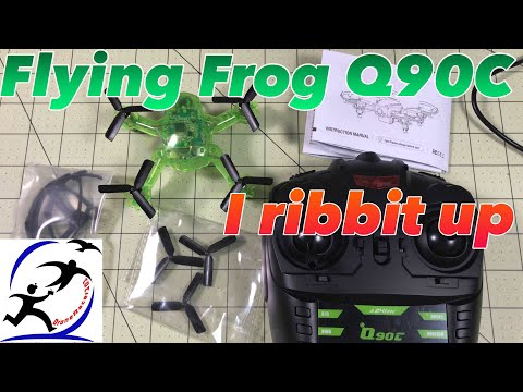 Eachine Flying Frog Q90C Unboxing and Review.  The best all in one combo drone yet for under $100 - UCzuKp01-3GrlkohHo664aoA