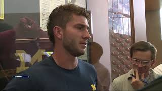 Shea Patterson says he feels 'a lot more natural' in Michigan's new offense