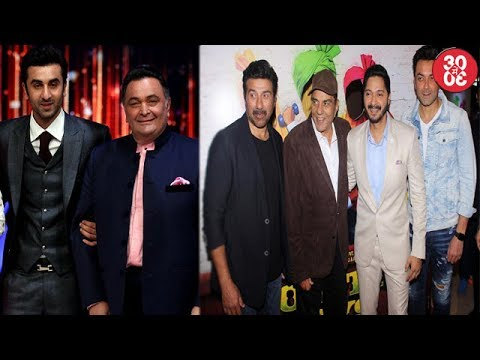 Rishi Kapoor Wants Ranbir To Steer Away From Production | Dharmendra At 'Poster Boy's Trailer Launch