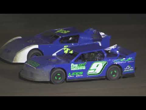 Pro Stock A-Feature at Crystal Motor Speedway, Michigan on 08-07-2021!! - dirt track racing video image