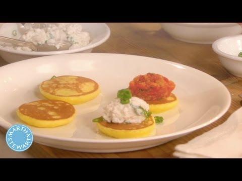 How to Make Potato Blinis - Meatless Monday - Martha Stewart - UC6JBm9OAkpI6NUBV_NsLxTA