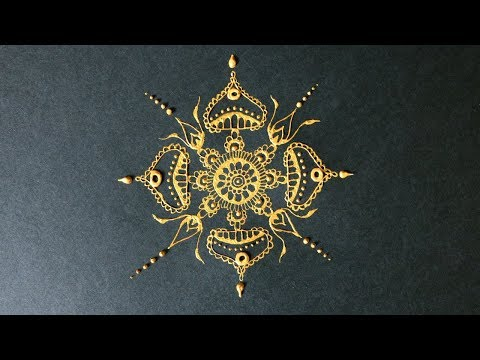 Zentangle Inspired Art #35