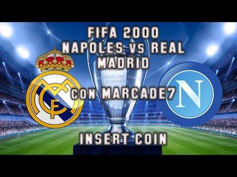 FIFA 2000 (PlayStation) - Napoli 1987 vs Real Madrid 1956 - Partido de ida (con Marcade7)