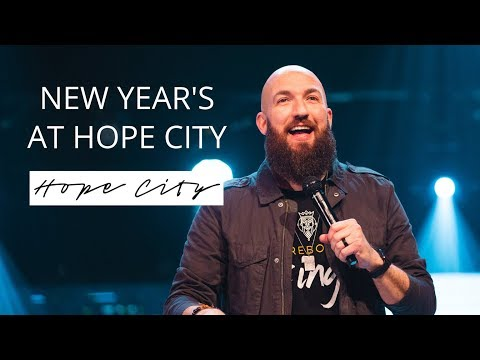 New Year's At Hope City  Pastor Daniel Groves