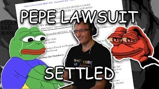 Feels Good, Man: Pepe the Frog Lawsuit Settles