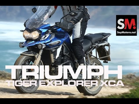 Presentación Triumph Tiger Explorer XCA 2016