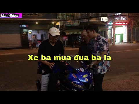 Phụ Huynh Dắt Con Trai Đi Mua xe Moto | MinhBiker