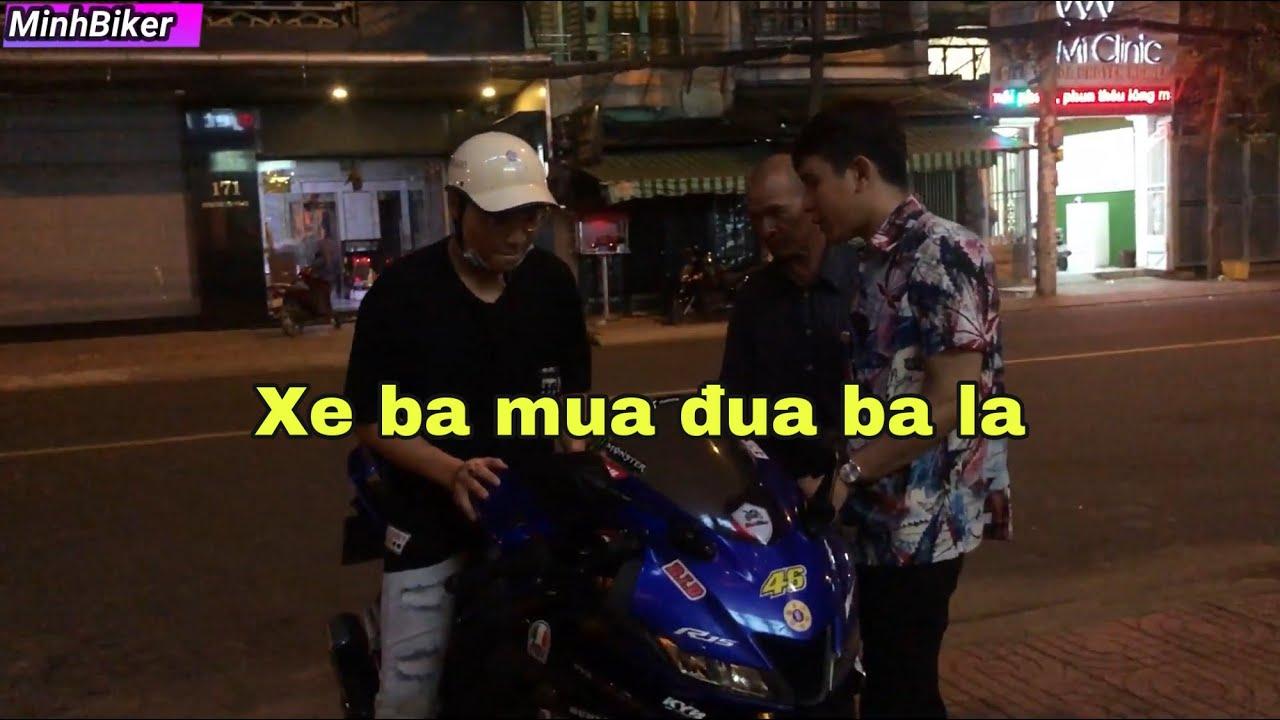 Phụ Huynh Dắt Con Trai Đi Mua xe Moto   MinhBiker