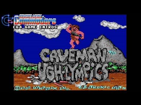 C64 Game Intro: Caveman Ugh-lympics (Dynamix/Electronic Arts, 1988)