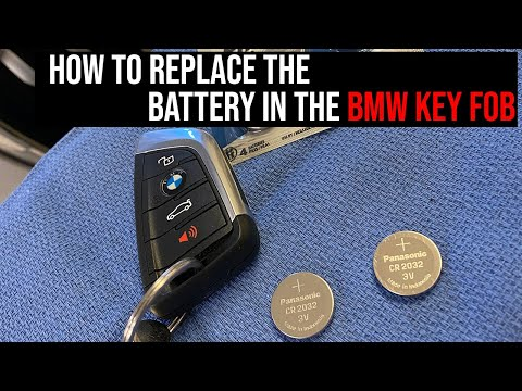 BMW Key Fob - How To Change The Battery
