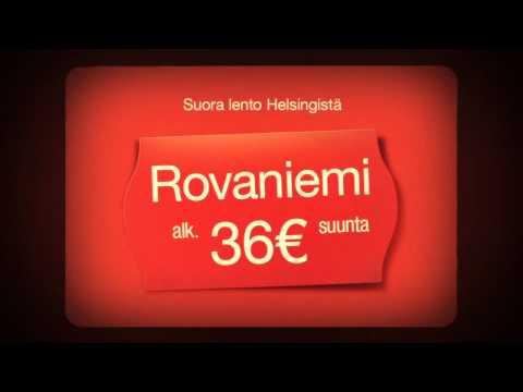 Norwegian TV-mainos / ROVANIEMI