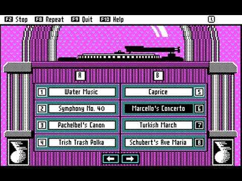 AdLib Juke Box (Classical Favorites #2 Album) (Ad Lib) (MS-DOS) [1987]