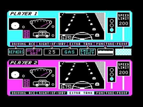 1000 Miler (Karen Middaugh) (MS-DOS) [1987]