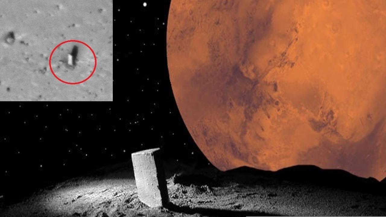 Monolity naMarsie iFobosie – kosmici czynatura?