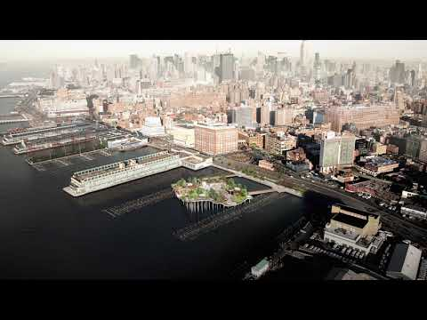 Heatherwick Studio's Pier 55 renamed Little Island