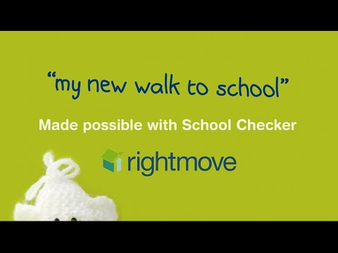 My new walk to school - Made possible with School Checker
