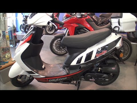 DAYTONA SMILE 50cc scooter 2019