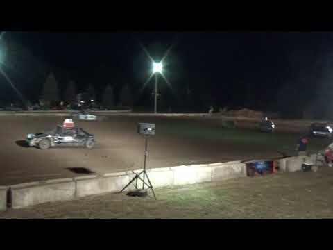 Michigan Bean Festival 2018 Bump and Run (compact cars) Heat 1(Fairgrove,Michigan)