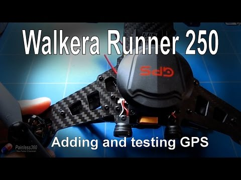 RC Test - Adding Walkera GPS to Runner 250 (parts from Banggood.com) - UCp1vASX-fg959vRc1xowqpw