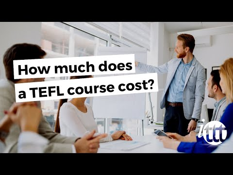 video telling how much is a TEFL course with ITTT