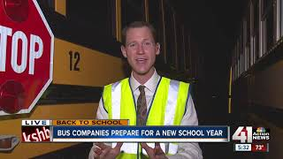 Expect to see school buses back on the roads