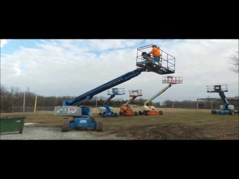 1997 Genie S60 boom lift for sale | no-reserve Internet auction March 2, 2017