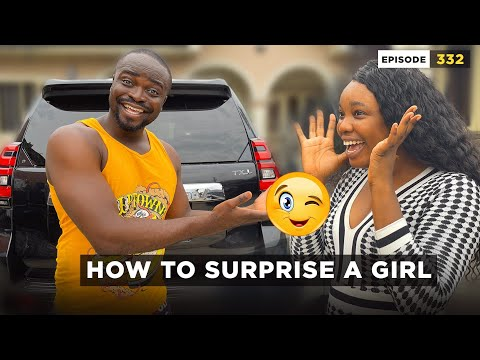 How to surprise a girl - Episode 332 (Mark Angel Comedy)