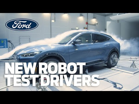 Meet Ford's New Robot Test Drivers