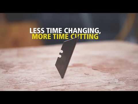 The STANLEY® Tungsten Carbide™ blade