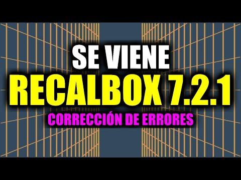 Anunciado Recalbox 7.2.1 para corregir errores y fallos