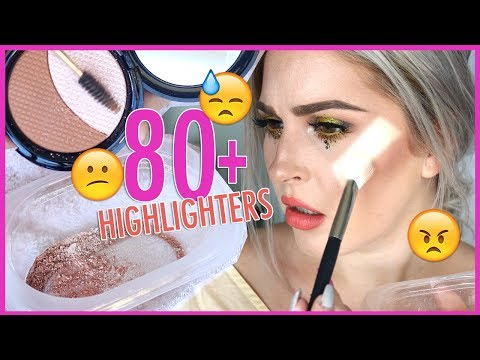 MIXING 90+ HIGHLIGHTERS TOGETHER  - UCMpOz2KEfkSdd5JeIJh_fxw