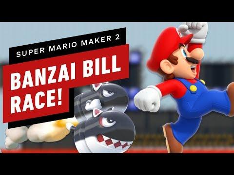 Racing a Horde of Banzai Bills In Super Mario Maker 2 - Gameplay - UCKy1dAqELo0zrOtPkf0eTMw