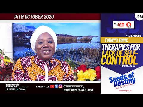 Dr Becky Paul-Enenche - SEEDS OF DESTINY - WEDNESDAY OCTOBER 14, 2020