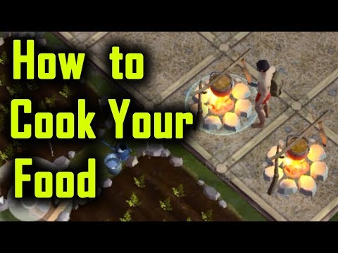 How to COOK FOOD ( meat berry carrots ) in Last Day on Earth Survival
