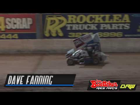 Lightning Sprints - A-Main - Brisbane Speedway - 15.10.16 - dirt track racing video image