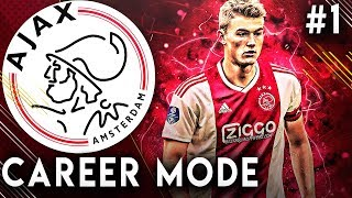 FIFA 19 Ajax Career Mode EP1 - Our Road To Glory Begins!!