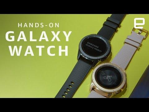 Samsung Galaxy Watch Hands-On: Steady progress, but few thrills - UC-6OW5aJYBFM33zXQlBKPNA