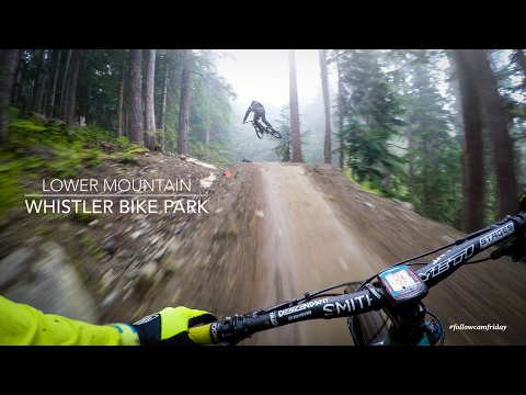 Mountain Biking the lower Whistler Bike Park - UCywMHpWJsb9GXD0lakYf6WA